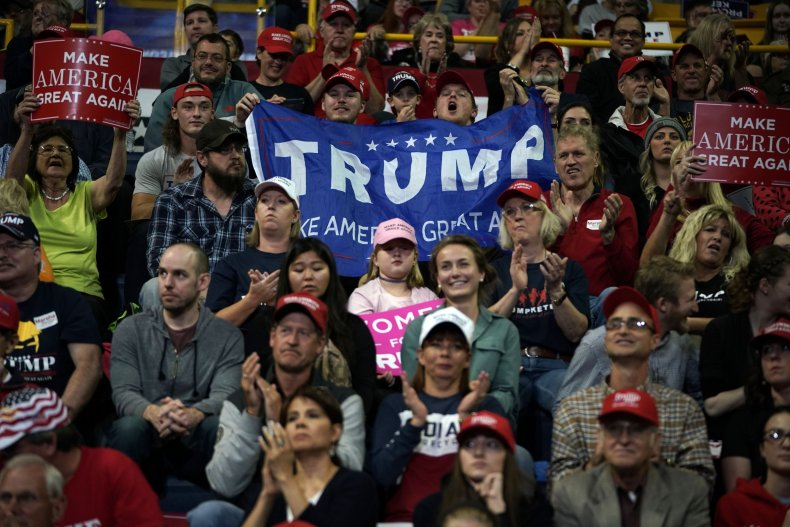 trump supporters can't speak freely
