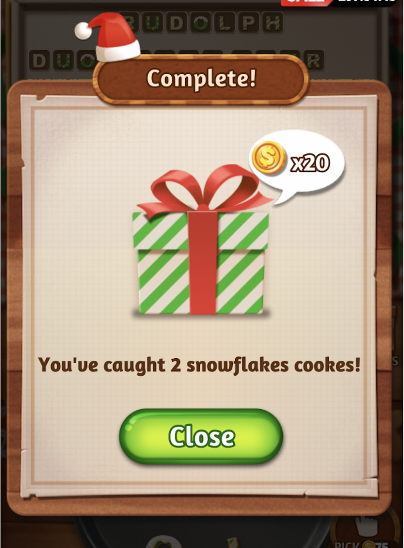 word, cookies, holiday, event, answers, all, cheats, puzzle, hints, december, 2018, complete, guide, clues