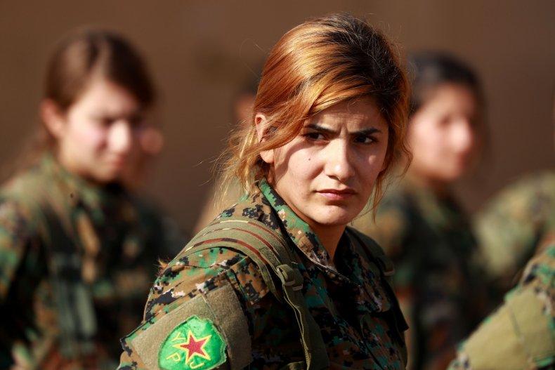 SDF YPG Kurds Syria
