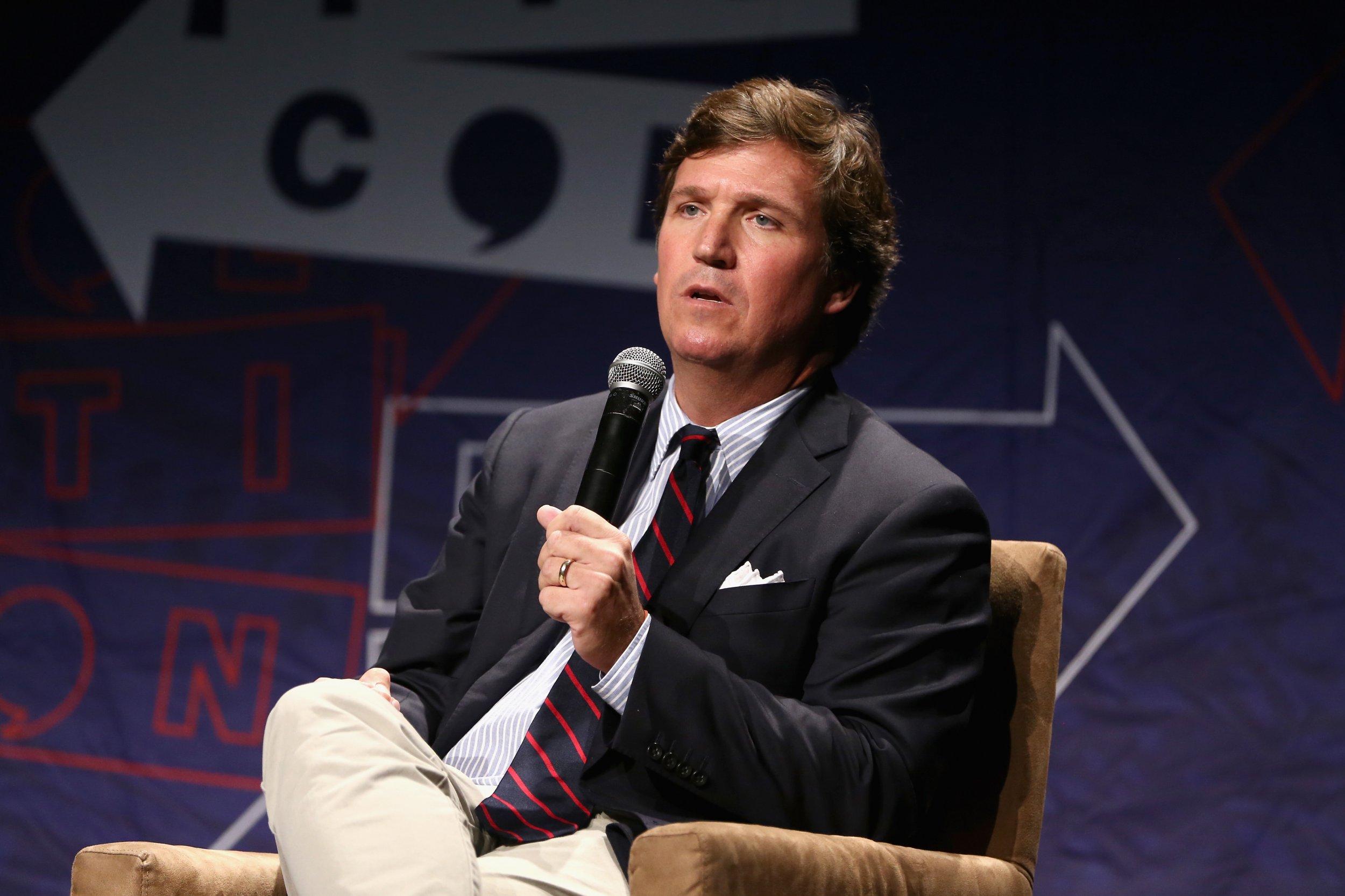 Tucker Carlson, Fox News, Stephen Colbert, Racist, Immigration, Gingerbread Men