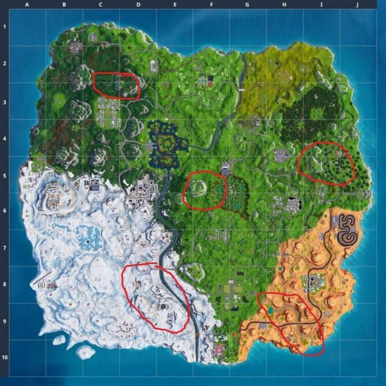 Fortnite Season 7 zipline map