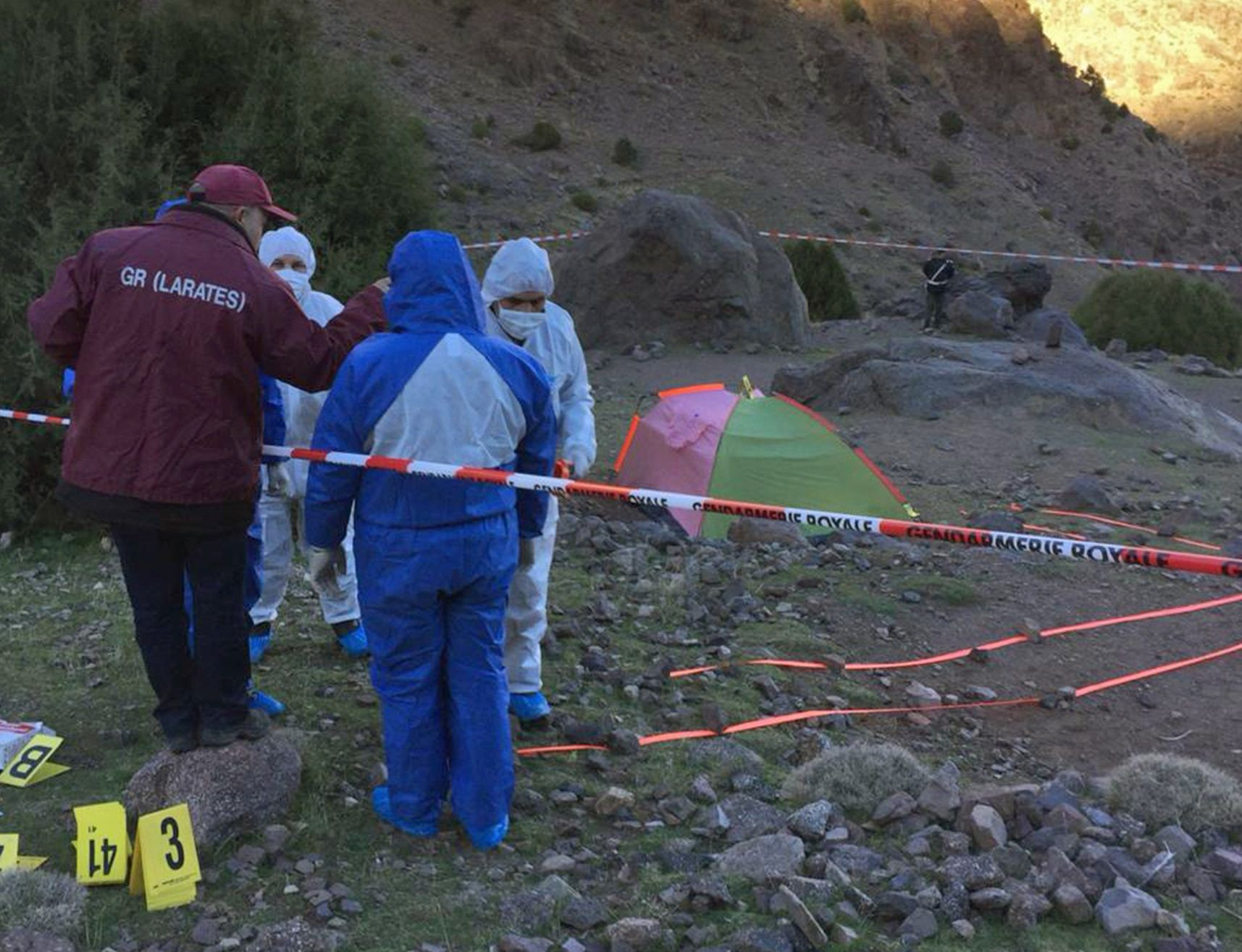 Morocco Scandinavian backpackers murders