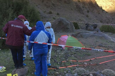Morocco Scandinavian backpackers murders