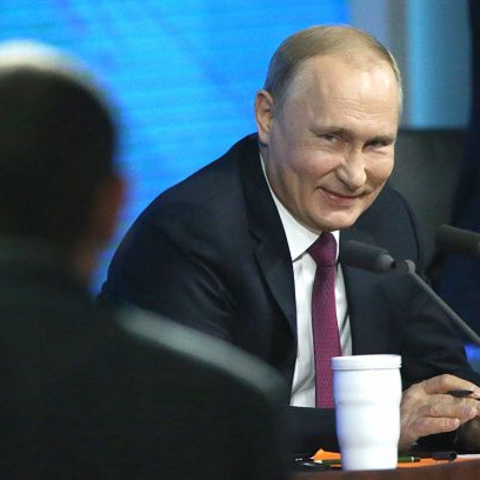 Vladimir Putin Says He S A Decent Person And Decent People Get Married I Will Have To Do It Someday