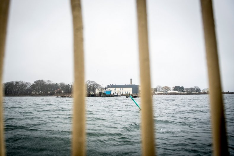 Lindholm island Denmark migrants
