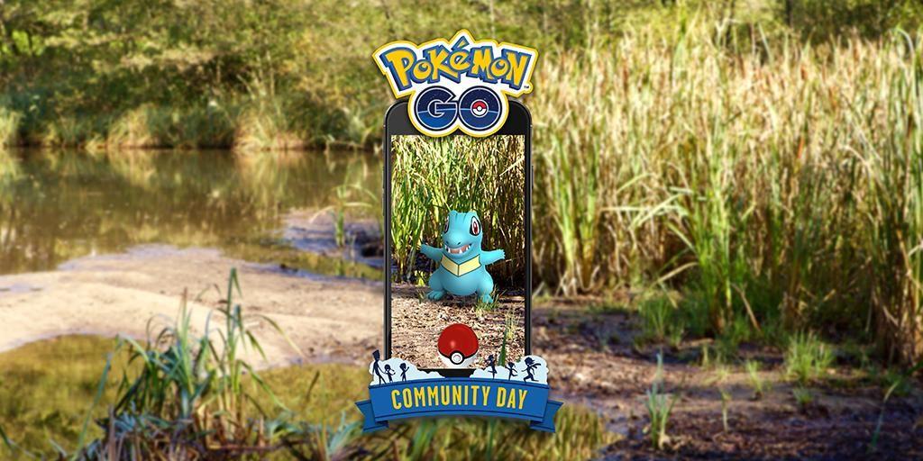 pokemon go totodile community day