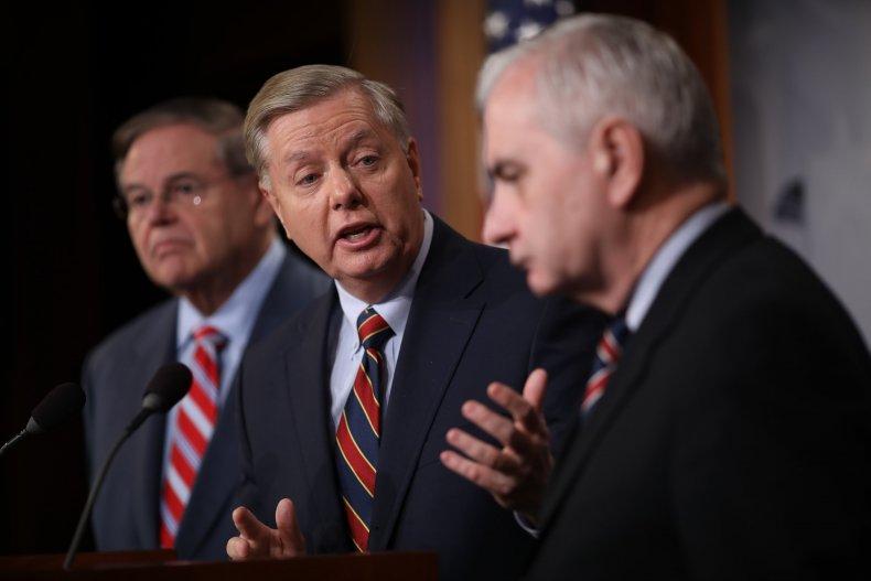 Donald Trump, Syria, Withdrawal, Troops, Lindsey Graham
