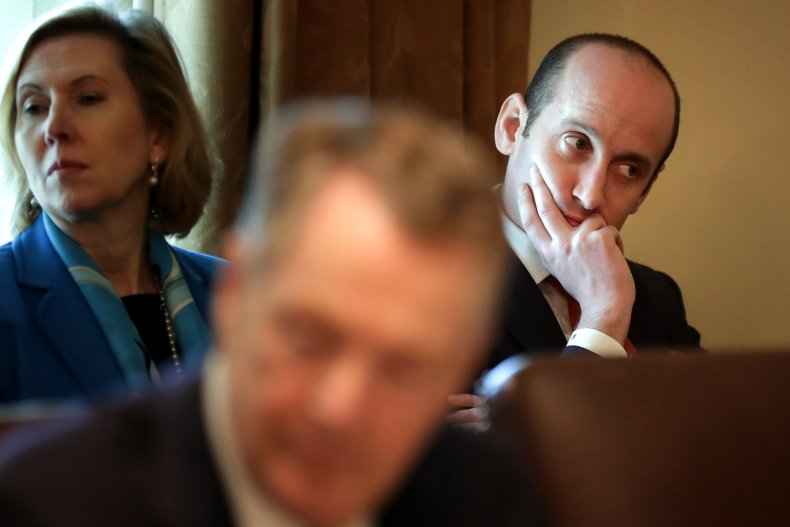 Stephen Miller, Donald Trump, Bald, Syria, Foreign Policy