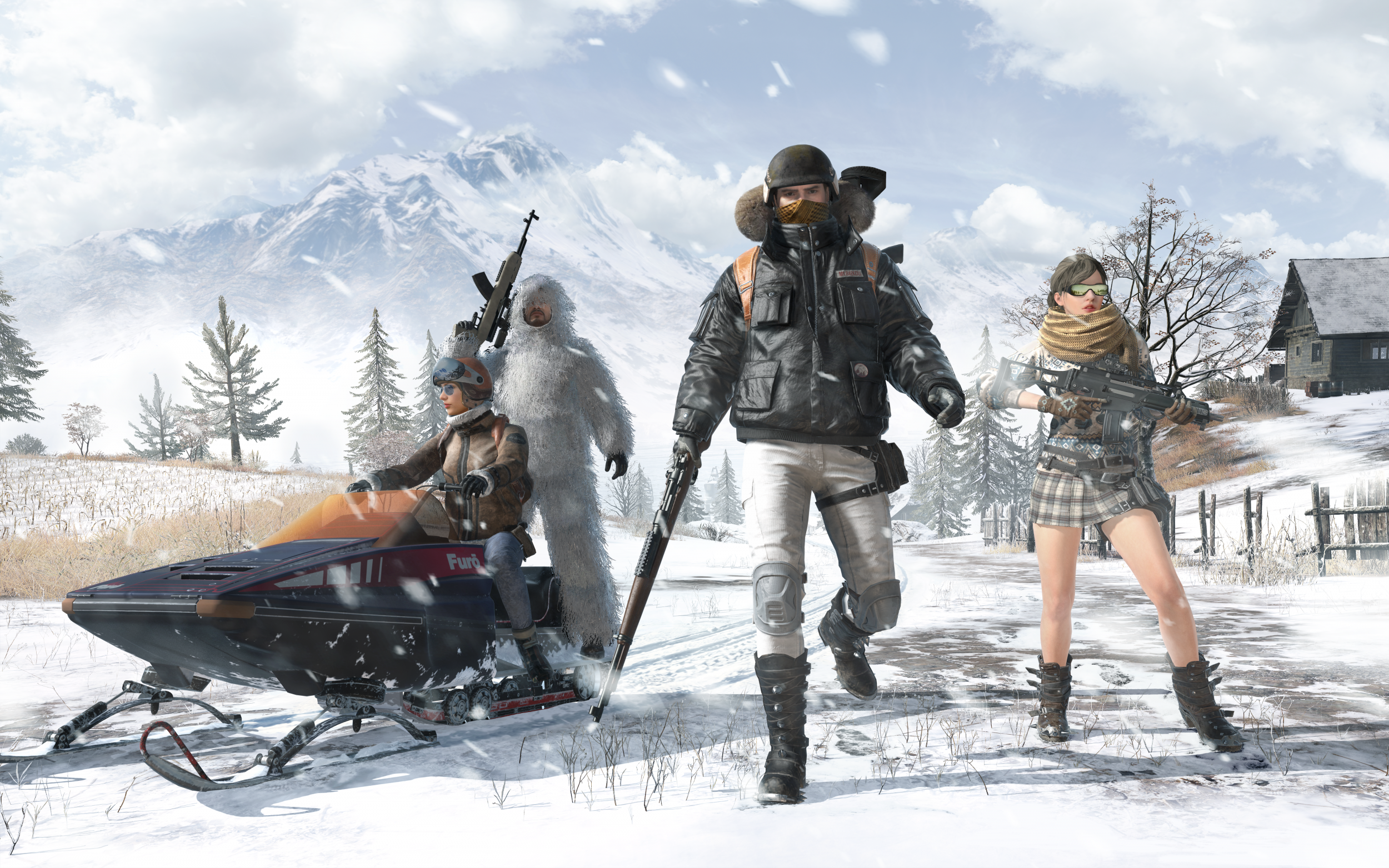 Pubg Vikendi Wallpapers: 'PUBG' Devs Discuss Crossplay Plans, Vikendi & Tips For