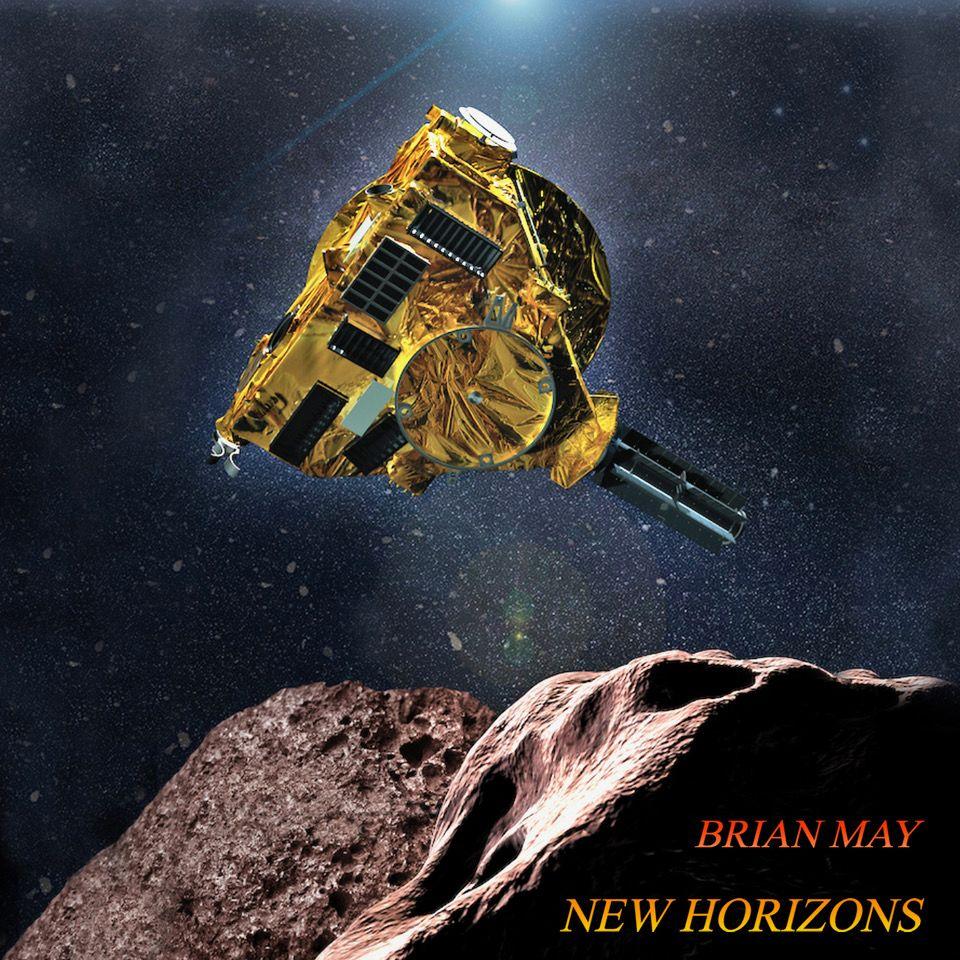 New Horizons, Brian May, NASA, Queen, Music, Space