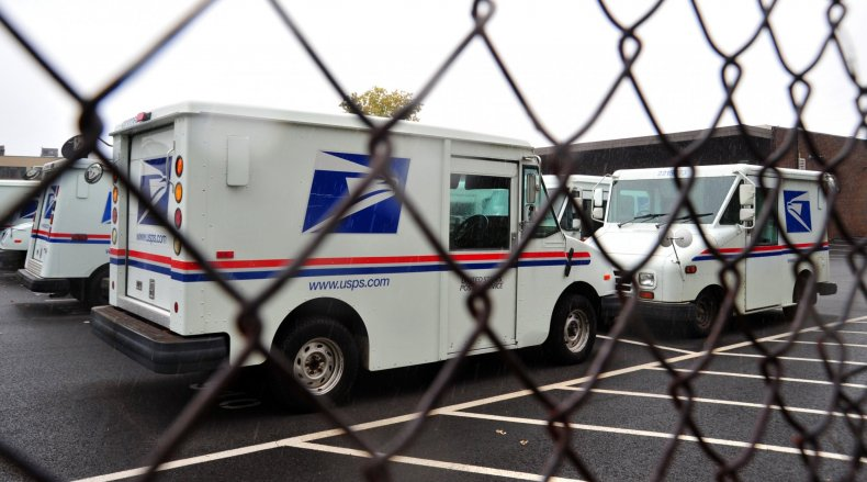 post office trucks