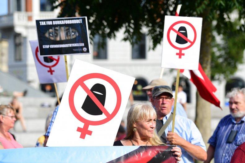 muslim veil protest