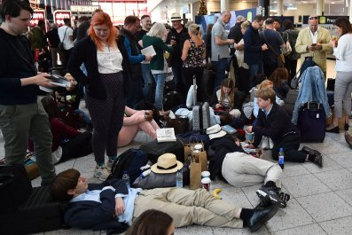 London Gatwick Airport, Drone Attack, Air Travel, Christmas