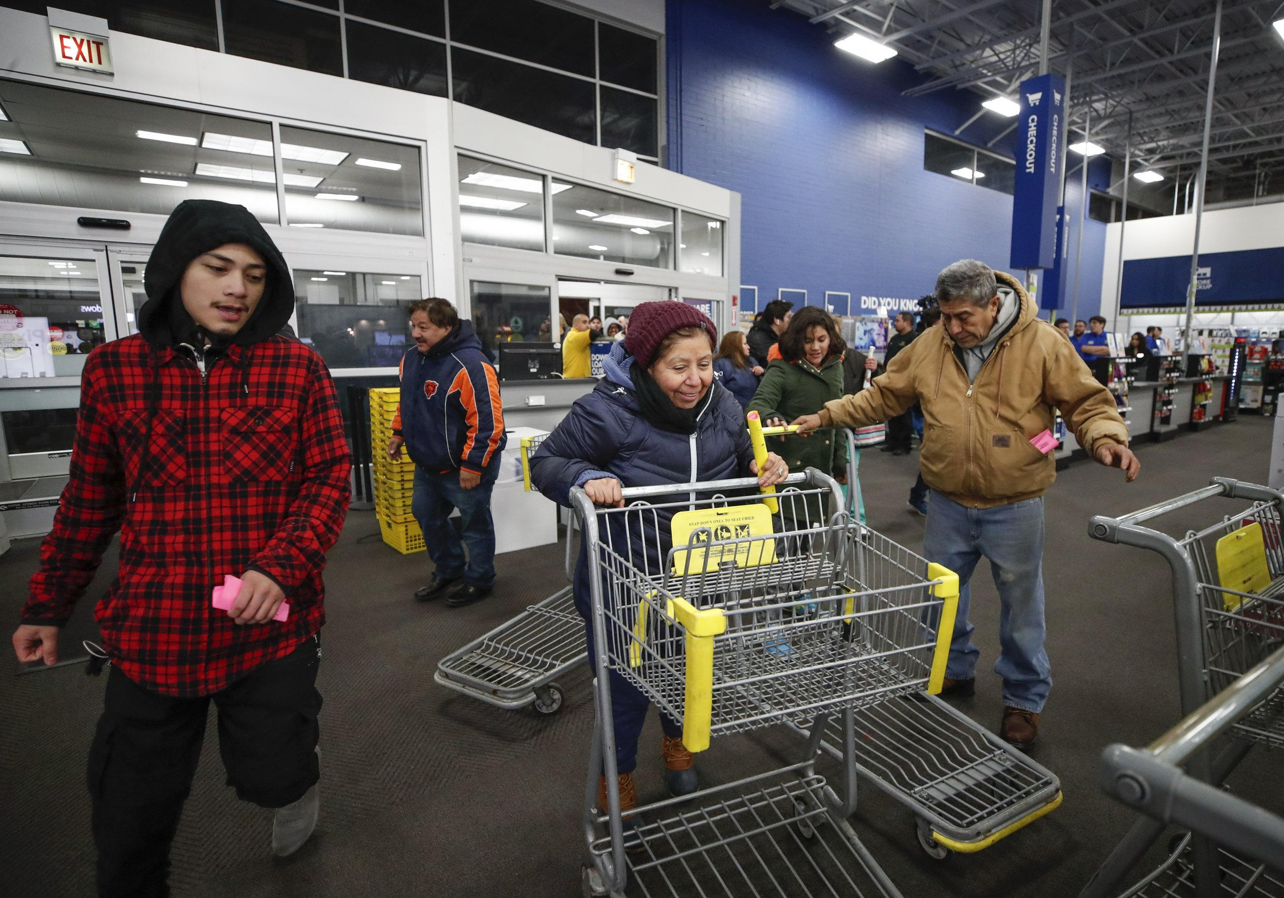 Best Buy Shoppers