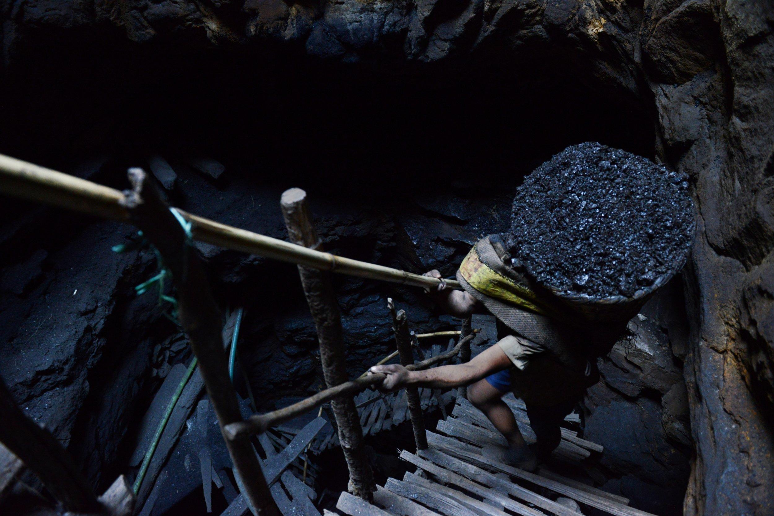 Indian coal mining