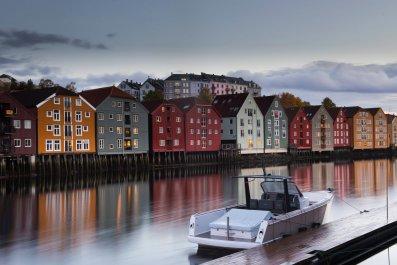Trondheim Norway car thief