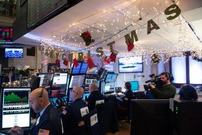 christmas stock market