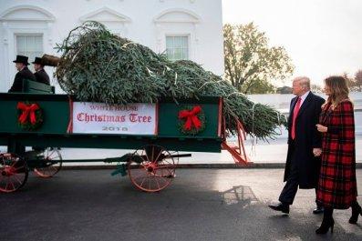russian, tv, mocks, donald, trump, christmas,