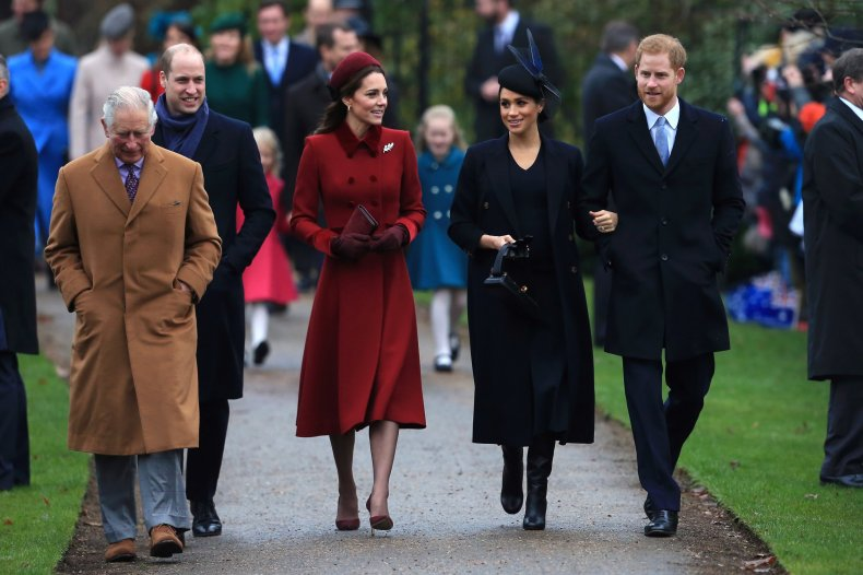 Royal Family Christmas Photos
