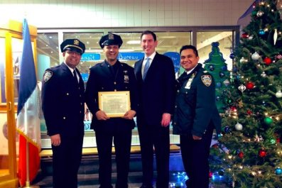 nypd officer sayed ali attack subway