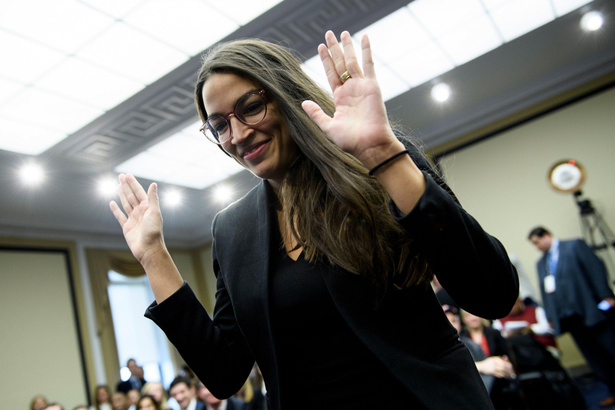 alexandria ocasio-cortez, democrat, claire mccaskill