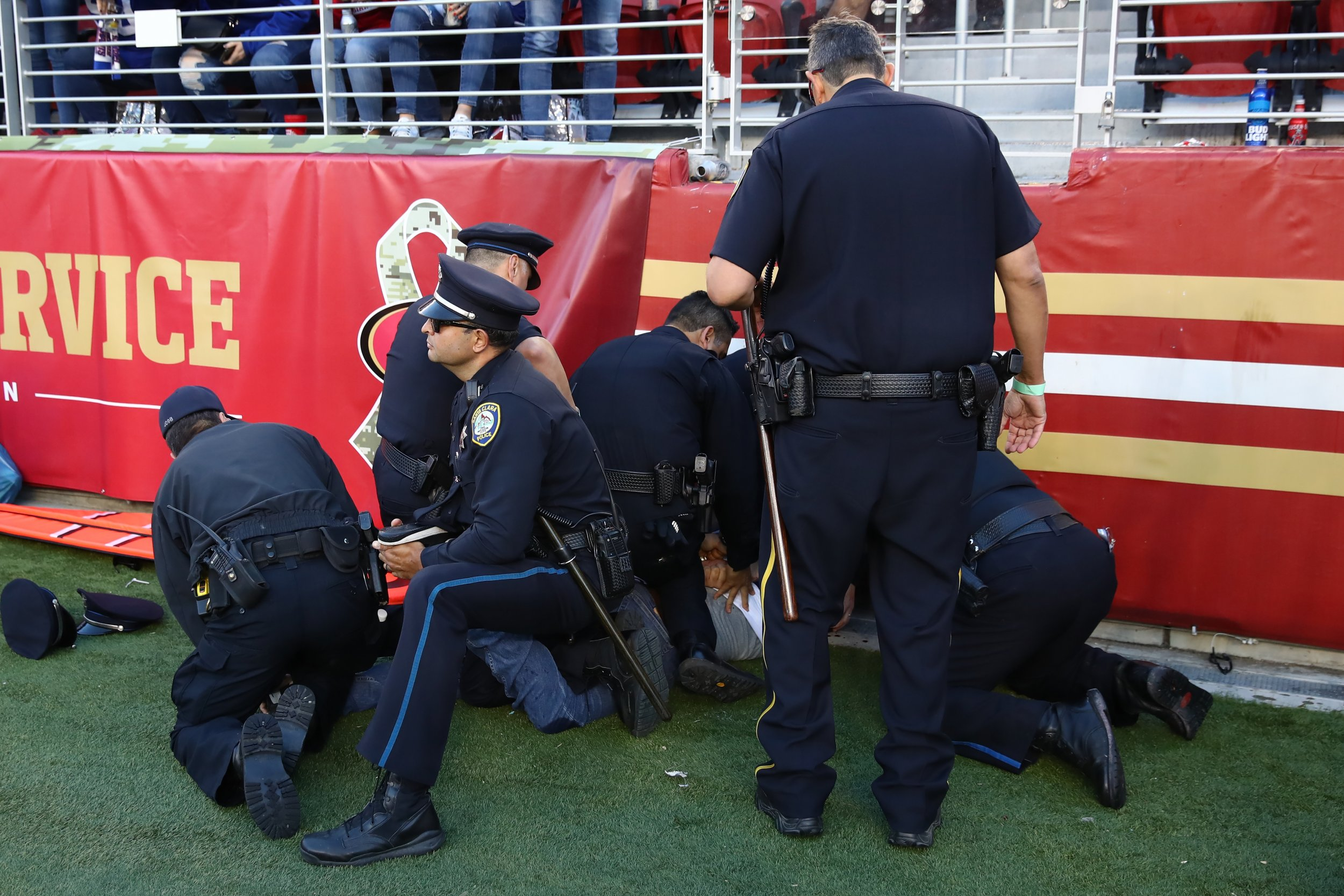 New York Giants Fans Ejection