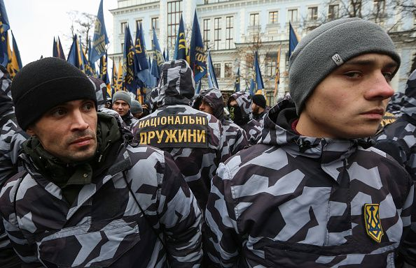 russia, ukraine, war, u.s., far-right, groups