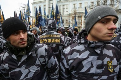 russia, ukraine, war, u.s., far-right, groups