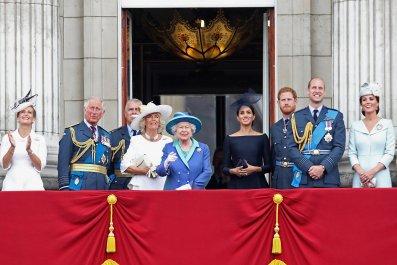 Queen Elizabeth II Hints at Meghan Markle's Baby in Christmas Address