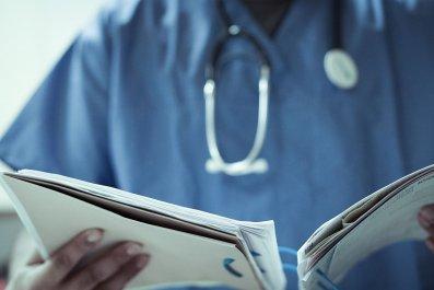 hospital staff getty stock