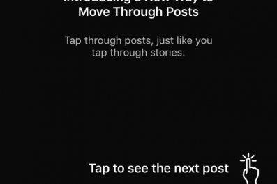 instagram scroll