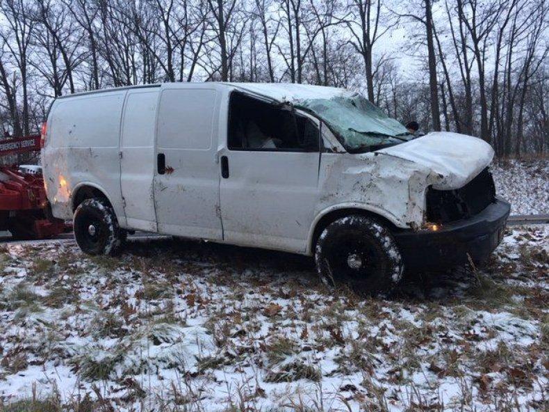 Michigan Van Flip