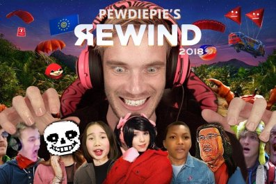 pewdiepie youtube rewind