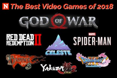 Best Video Games 2018