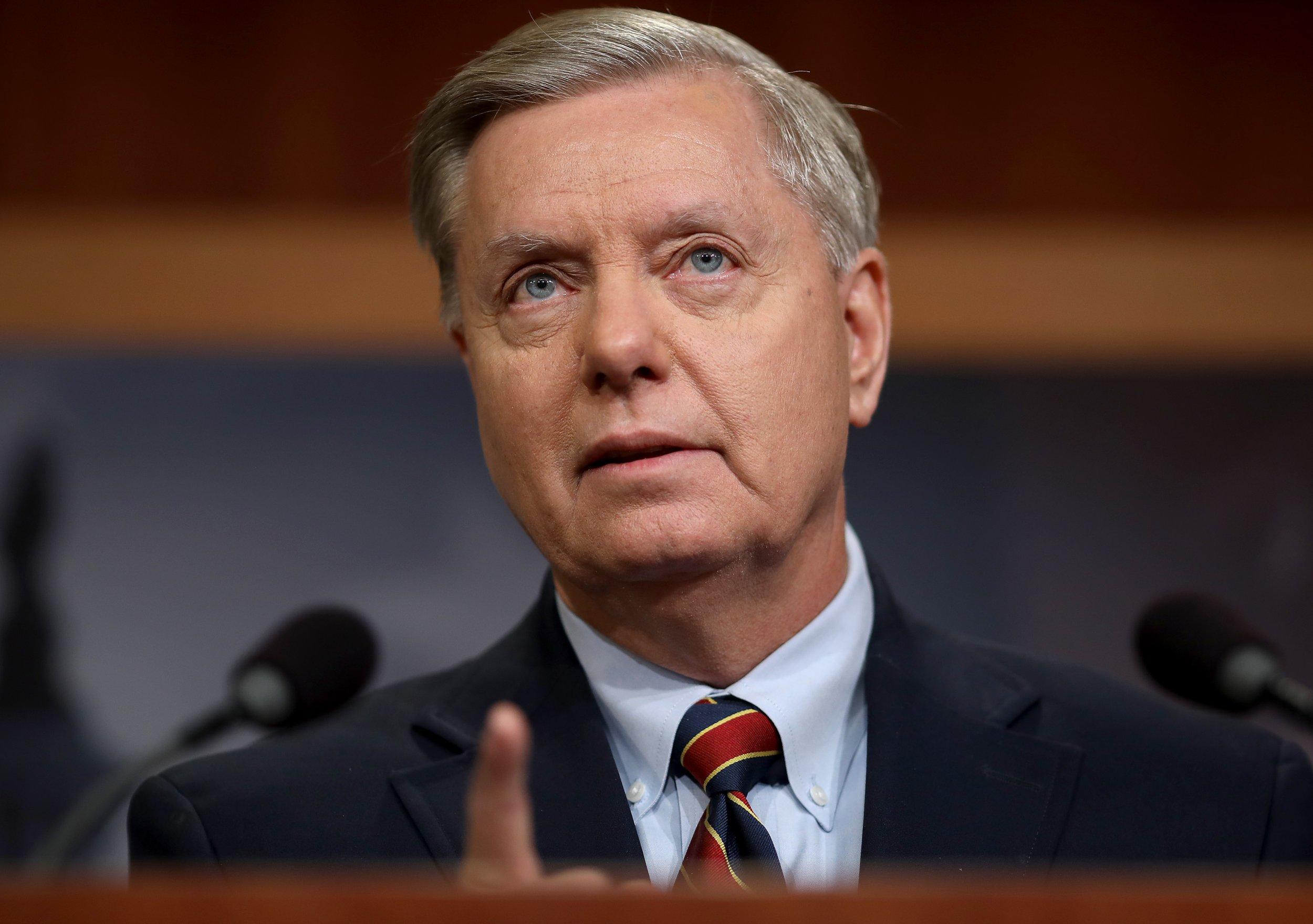 Lindsey Graham Capitol press conference