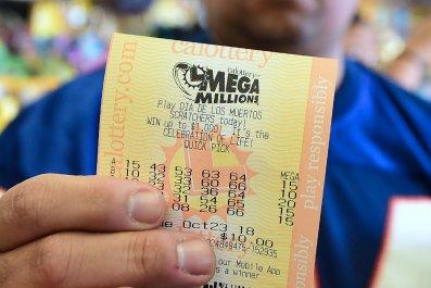 mega millions lottery did anyone win jackpot prize friday