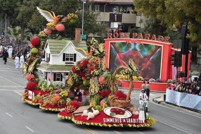 rose parade 2017