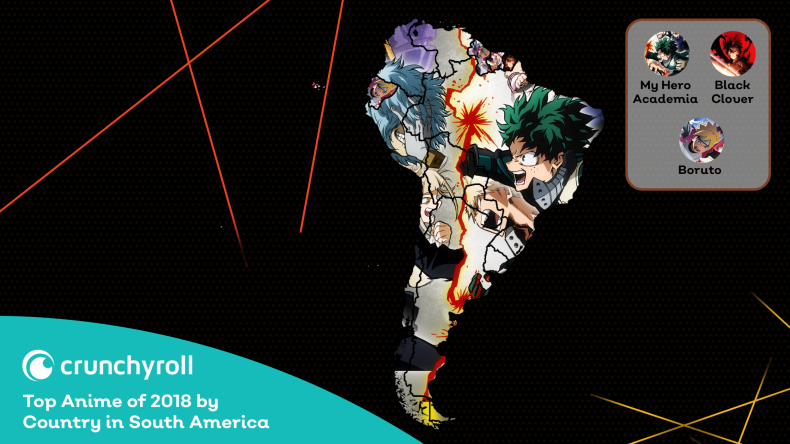 2018 In Review - South America Crunchyroll