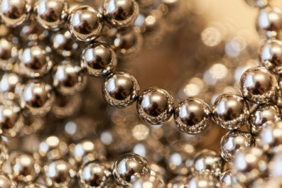 Magnet balls stock getty