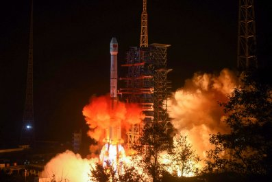 china, defeat, us, space, far, side, moon