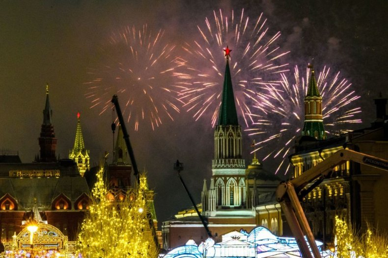 Moscow New Year's 2019