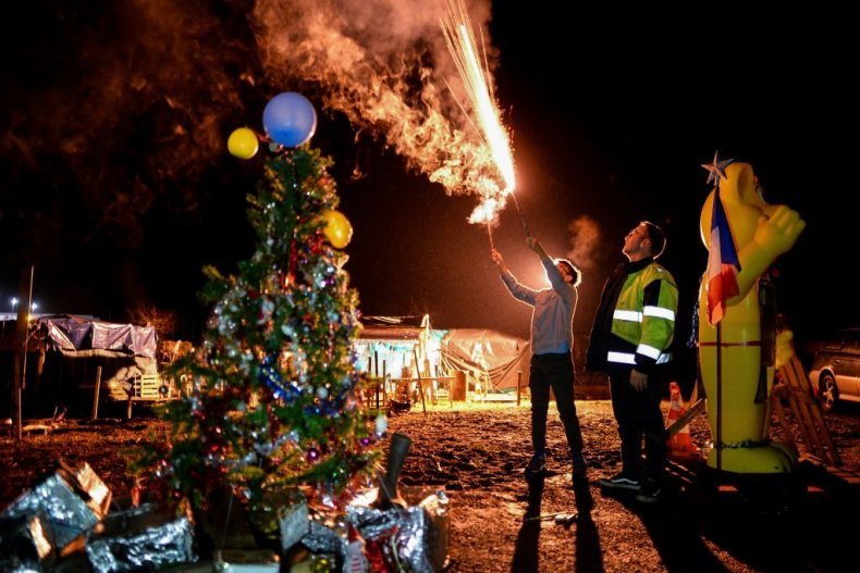 France Yellow Vest New Year's 2019