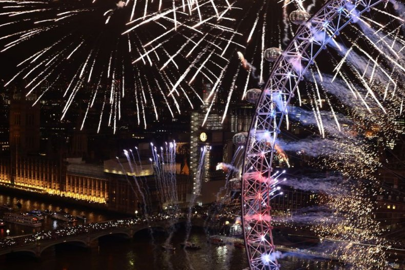 London New Year's 2019