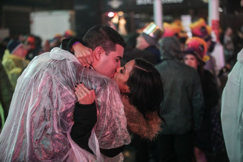 New York City Times Square New Year's 2019