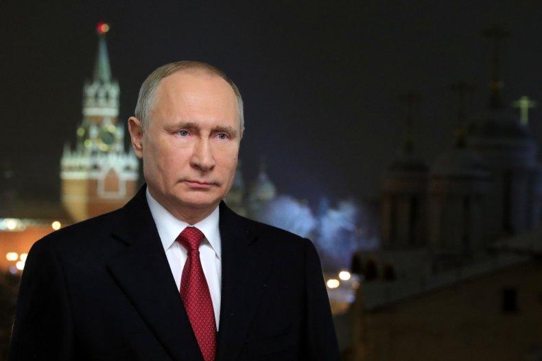 Putin New Year