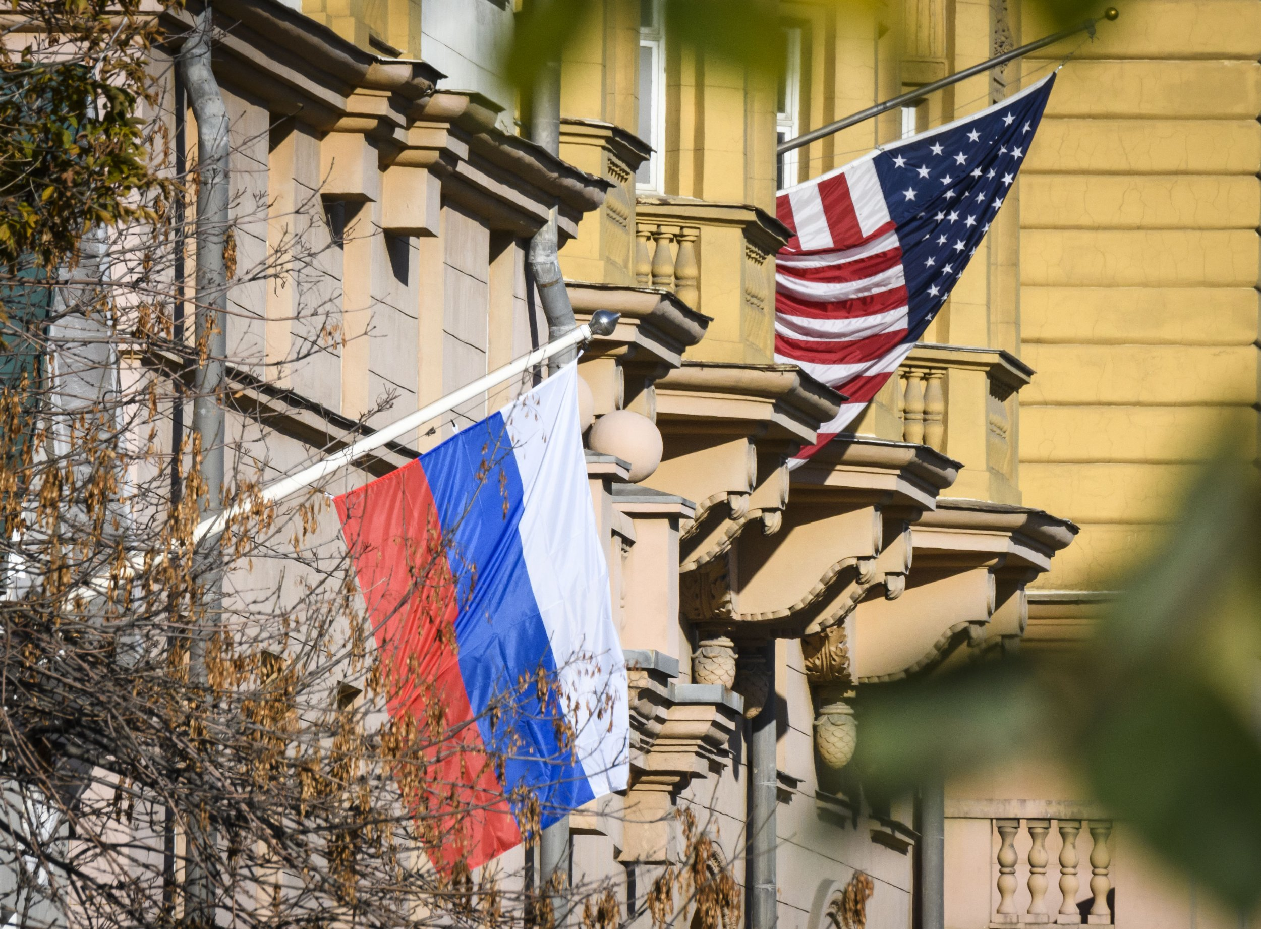 american detained russia