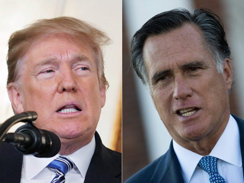 mitt romney donald trump