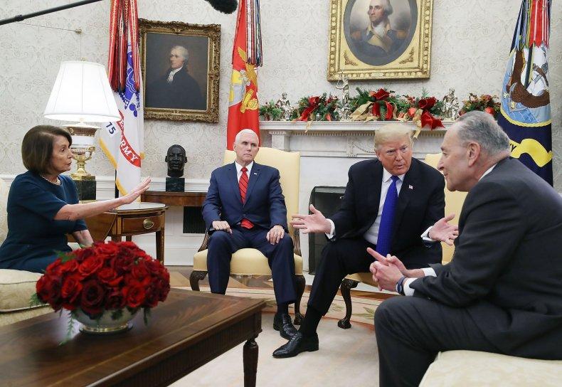 government, shutdown, 2019, update, trump, pelosi