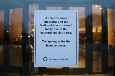 smithsonian museums national zoo closed government shutdown