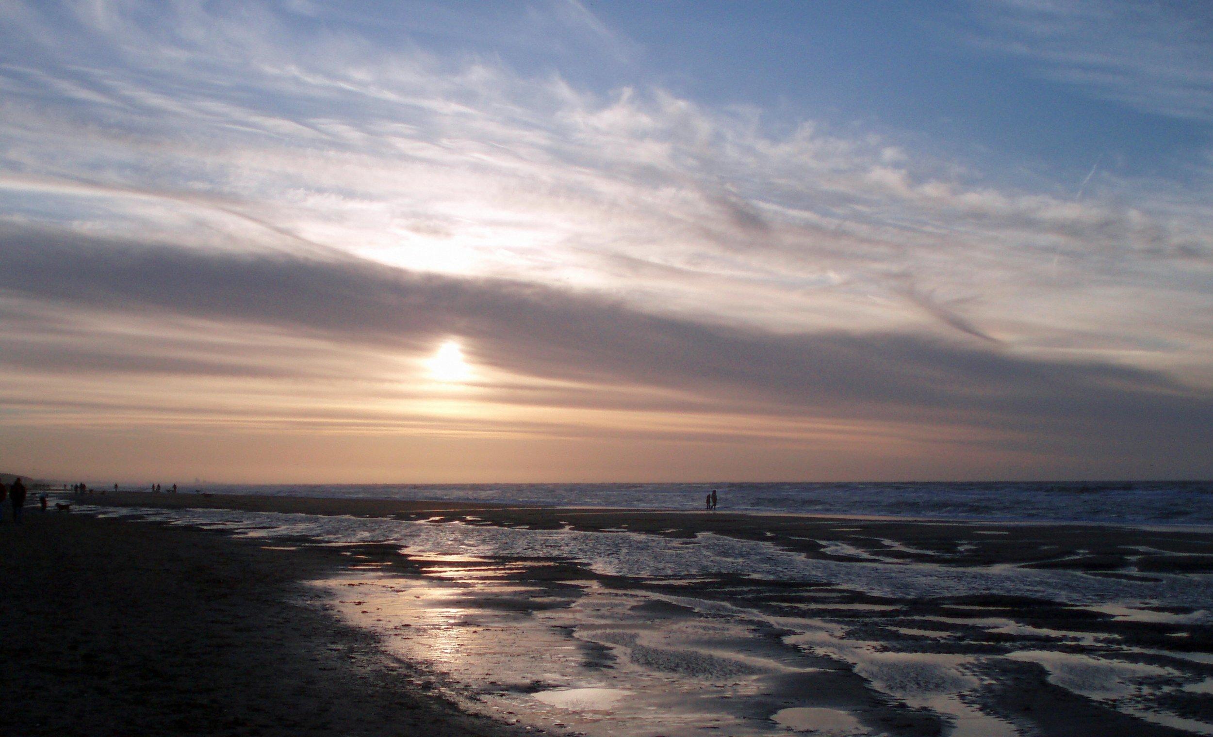 Noordwijk beach Netherlands
